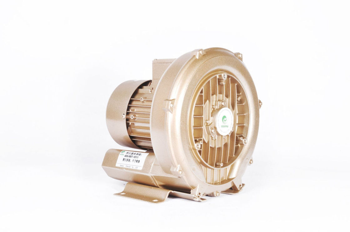 Large Airflow Regenerative Side Channel Blower High Pressure For Tank Agitation 0.7 KW