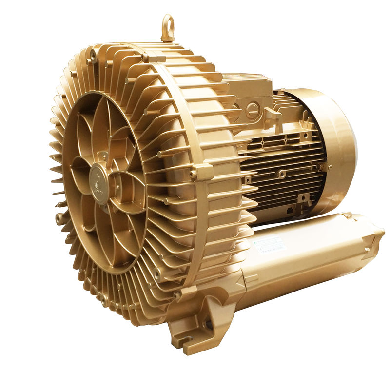 PTC Goorui Side Channel Blower , High Pressure Blower For Material Conveying System